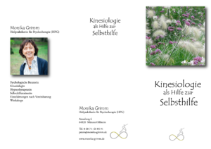 Infoblatt Kinesiologie Monika Grimm